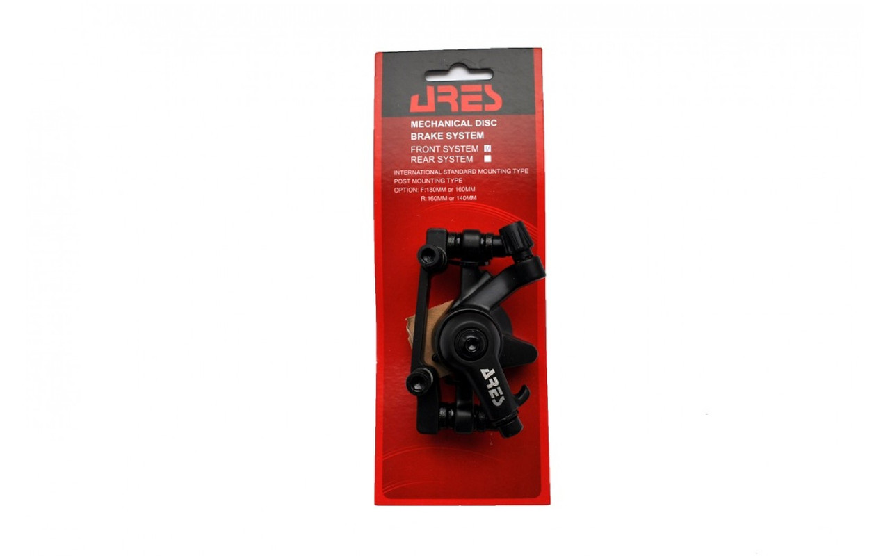 Тормозной калипер Ares MDA12 передний (адаптер F160/R140мм)
