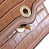 Сумка женская коричневая, фото 6