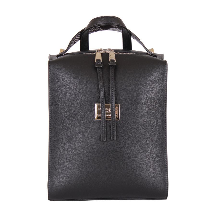 Сумка-рюкзак  Черная на молнии