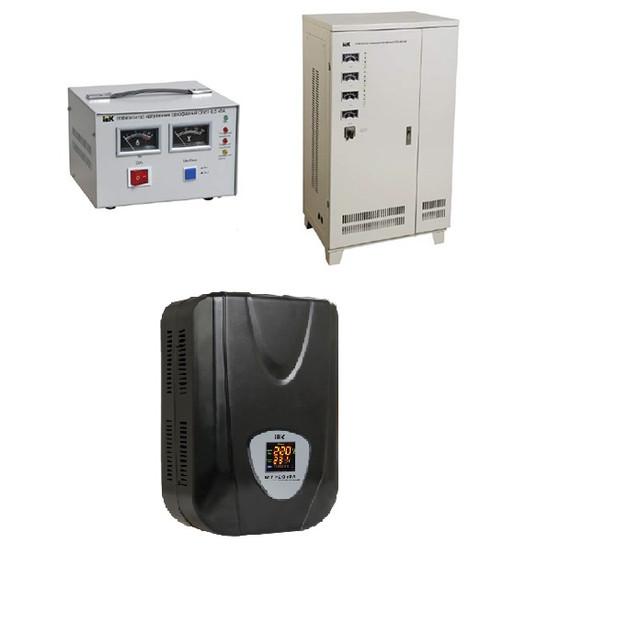 Сервоприводные стабилизаторы (электромеханические) IEK