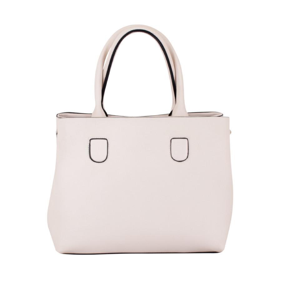 Каркасная сумка Бежевая