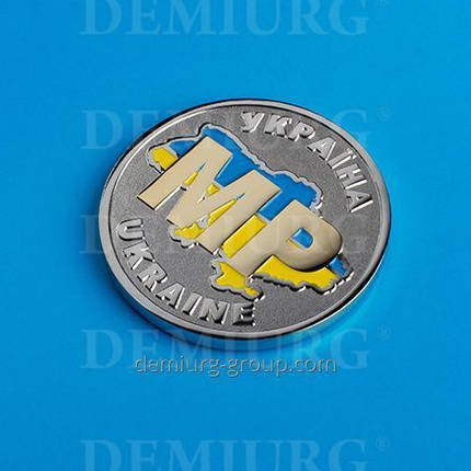 Монета сувенирная с эмалями, фото 2
