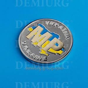 Монета сувенирная с эмалями