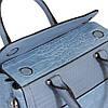 Сумка женская голубая, фото 5