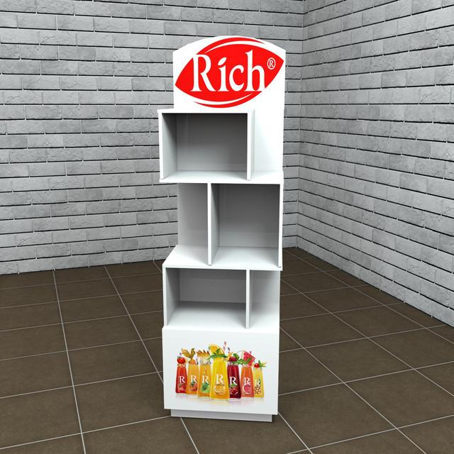 Производство рекламных стоек Rich