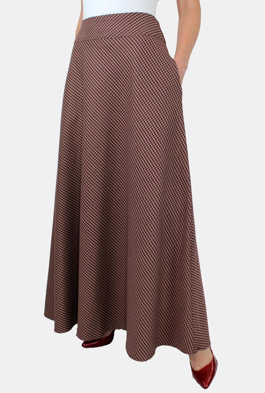 6f9b1115a6b75 Длинная расклешенная юбка в пол 44-52 р - Оптовый интернет-магазин по  продаже