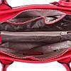 Сумка красная со съемным брелком из кожи, фото 5