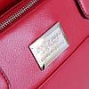 Сумка красная со съемным брелком из кожи, фото 6