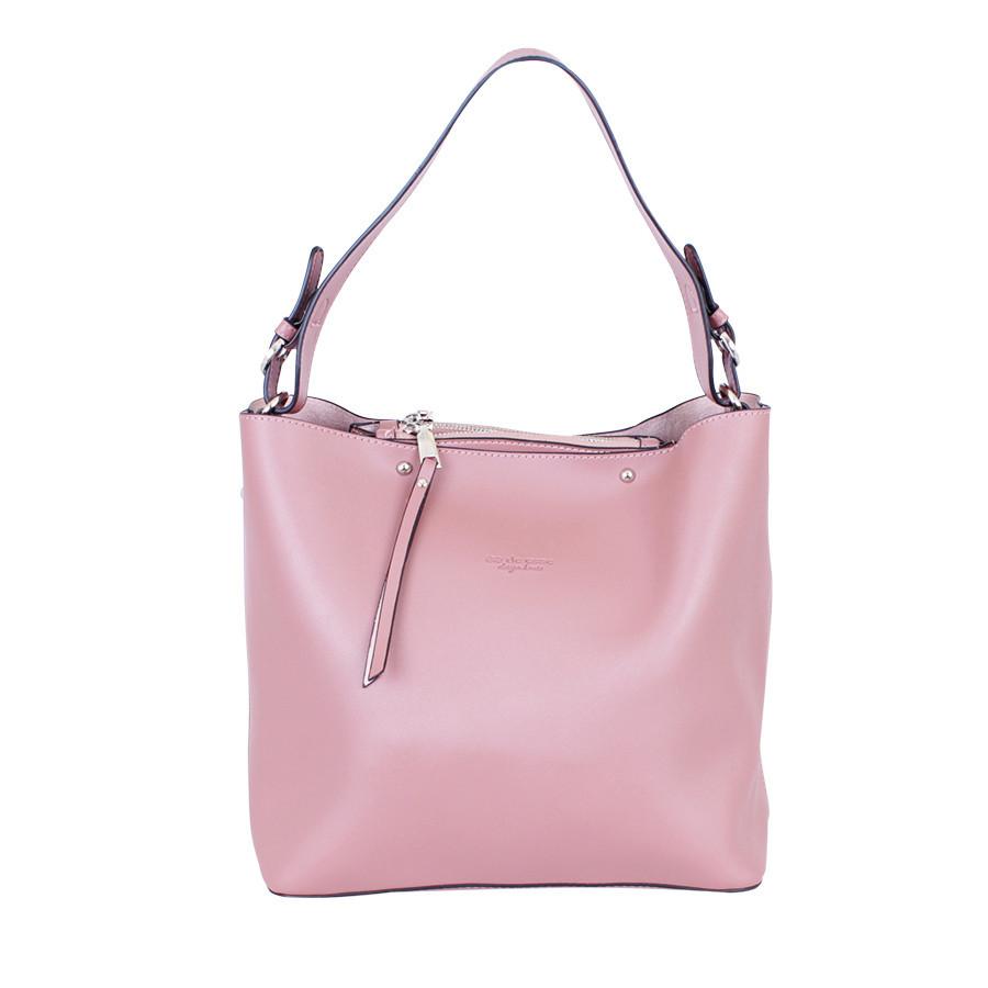 Сумка розовая модель сумка в сумке