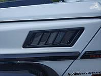 Карбоновые жабра в крылья на Mercedes G-Class W463