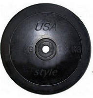 Диск (Блин) для штанги гантелей 2,5 кг (D-30 мм) для дома и спортзала