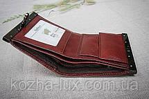 Кошелек небольшой 015S-Br Braun Buffel, натуральная кожа , фото 2