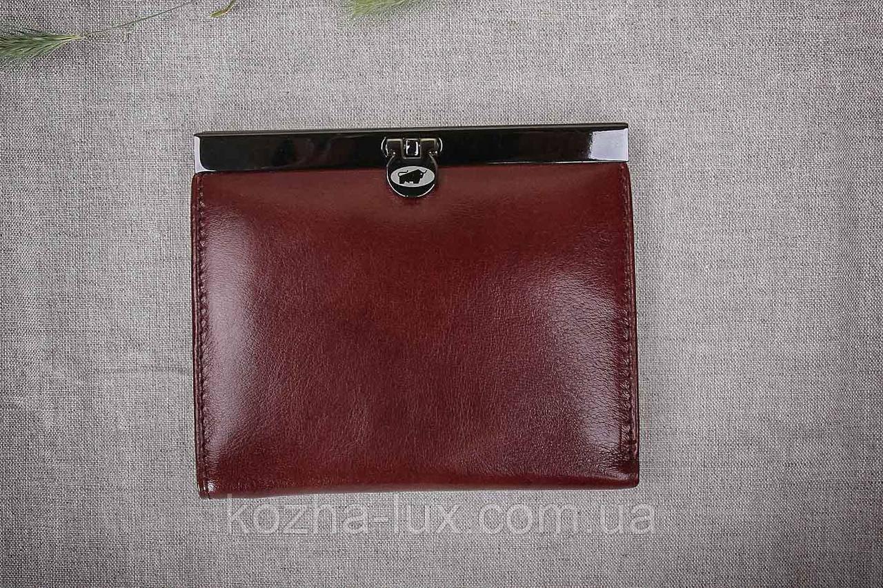 Кошелек небольшой 015S-Br Braun Buffel, натуральная кожа