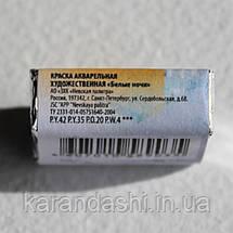 Акварель Белые Ночи Неаполитанская желтая (209) кювета 2,5мл, фото 2