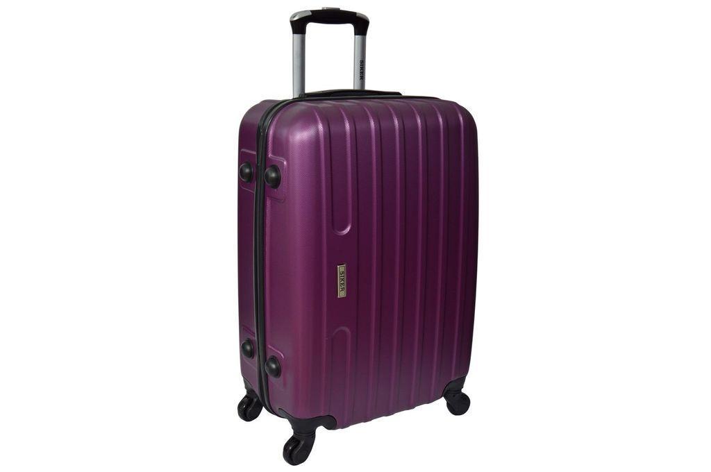 Дорожный чемодан на колесах Siker Line Сиреневый Средний