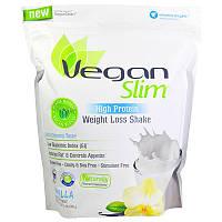 VeganSmart, Vegan Slim, с высоким содержанием белка, коктейль для похудения, ваниль, 24,2 унции (686 г)