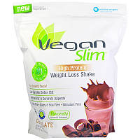 VeganSmart, Vegan Slim, коктейль для похудения, шоколад, 25,7 унций (728 г)