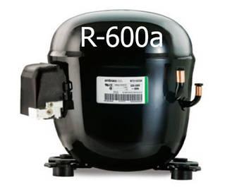Средне-температурные компрессоры embraco R-600a