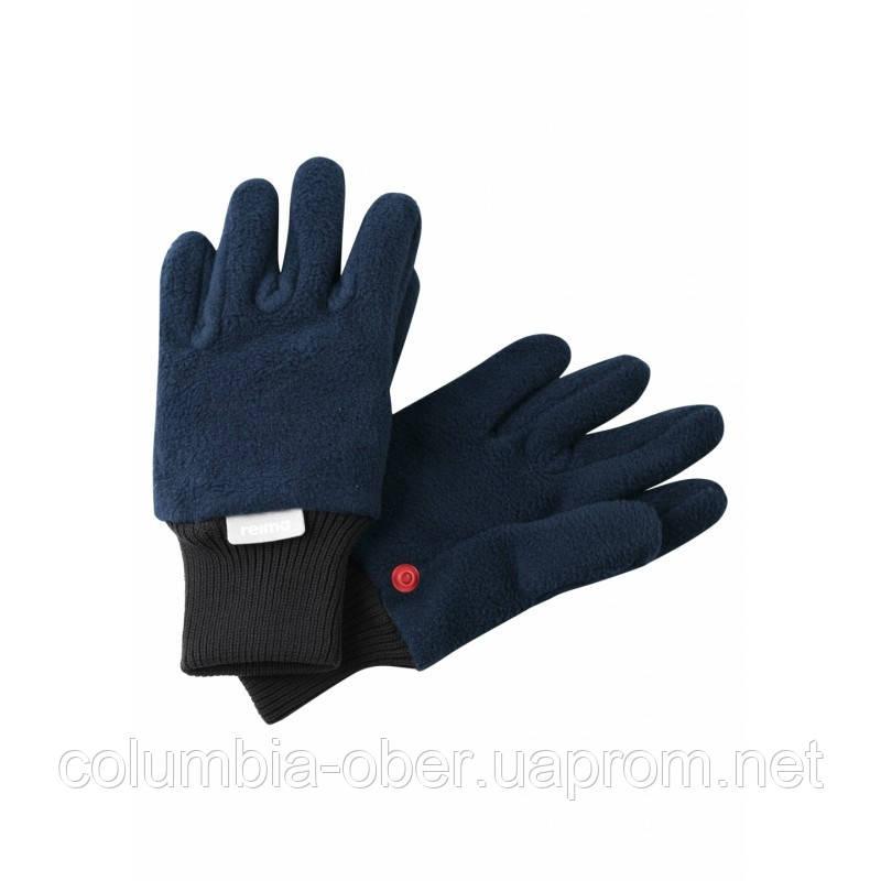 Перчатки флисовые для мальчика Reima Osk 527279-6980. Размеры 3/4, 5/6 и 7/8.