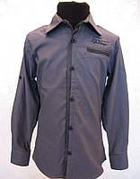 Красивая рубашка для мальчика 128 роста Нарядная