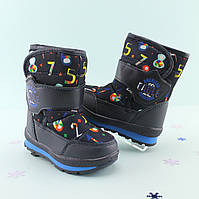 Cапоги дутики на мальчика зимняя обувь Том.м размер 23,25,27,28