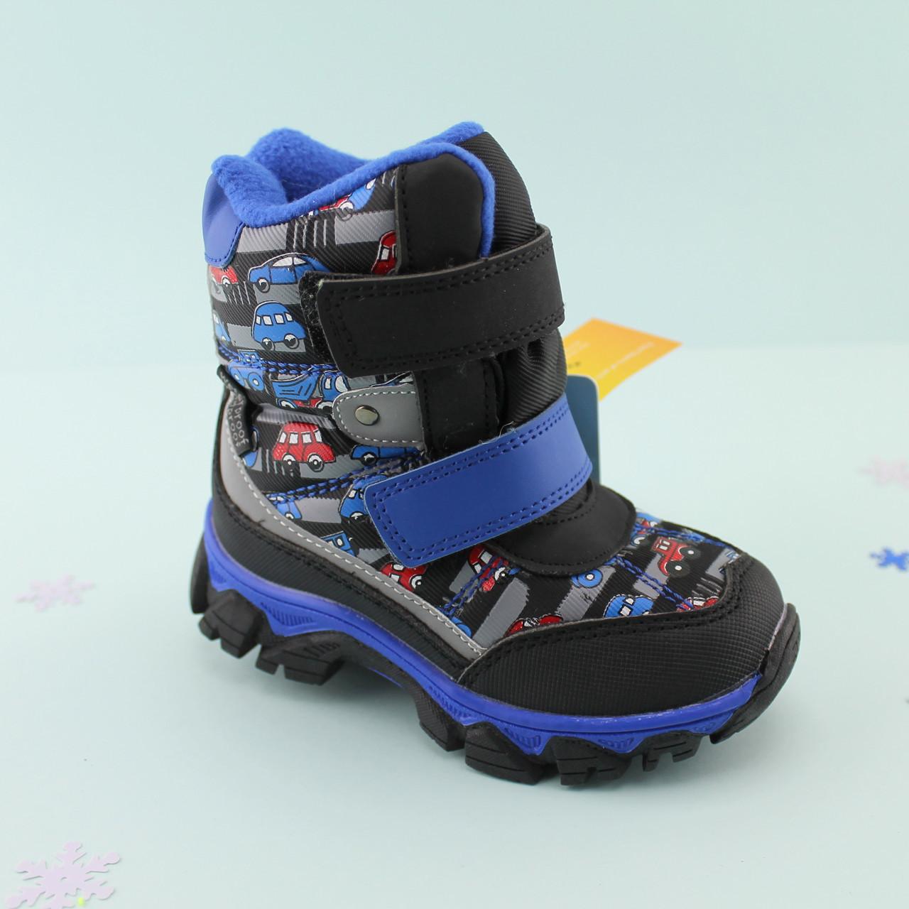 d367dfdd7 Термо ботинки на овчине для мальчика Том.м размер 27 - BonKids - детский  магазин