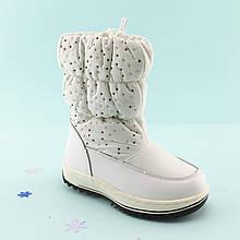 Зимние сапожки дутики Белые Том.м размер 27,28,30