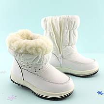 Зимние сапожки дутики Белые Том.м размер 27, фото 3