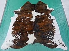 Шкура корови на підлогу екзотичної бразильської коричнево білого забарвлення