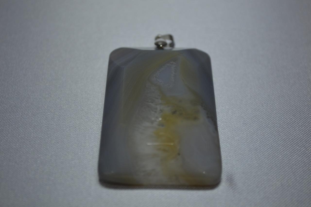 """Подвеска камень """"Агат"""" (3,3х6 см)"""