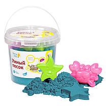 Набор Genio Kids-Art для детского творчества умный песок 1 кг зеленый (SSR104)