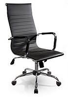 Офисное компьютерное кресло Exclusiv C031 черное Эксклюзив (офісне комп'ютерне крісло чорне Ексклюзив), фото 1