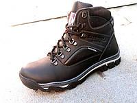 Кожаные мужские зимние ботинки KARDINAL 40-45 р-р, фото 1