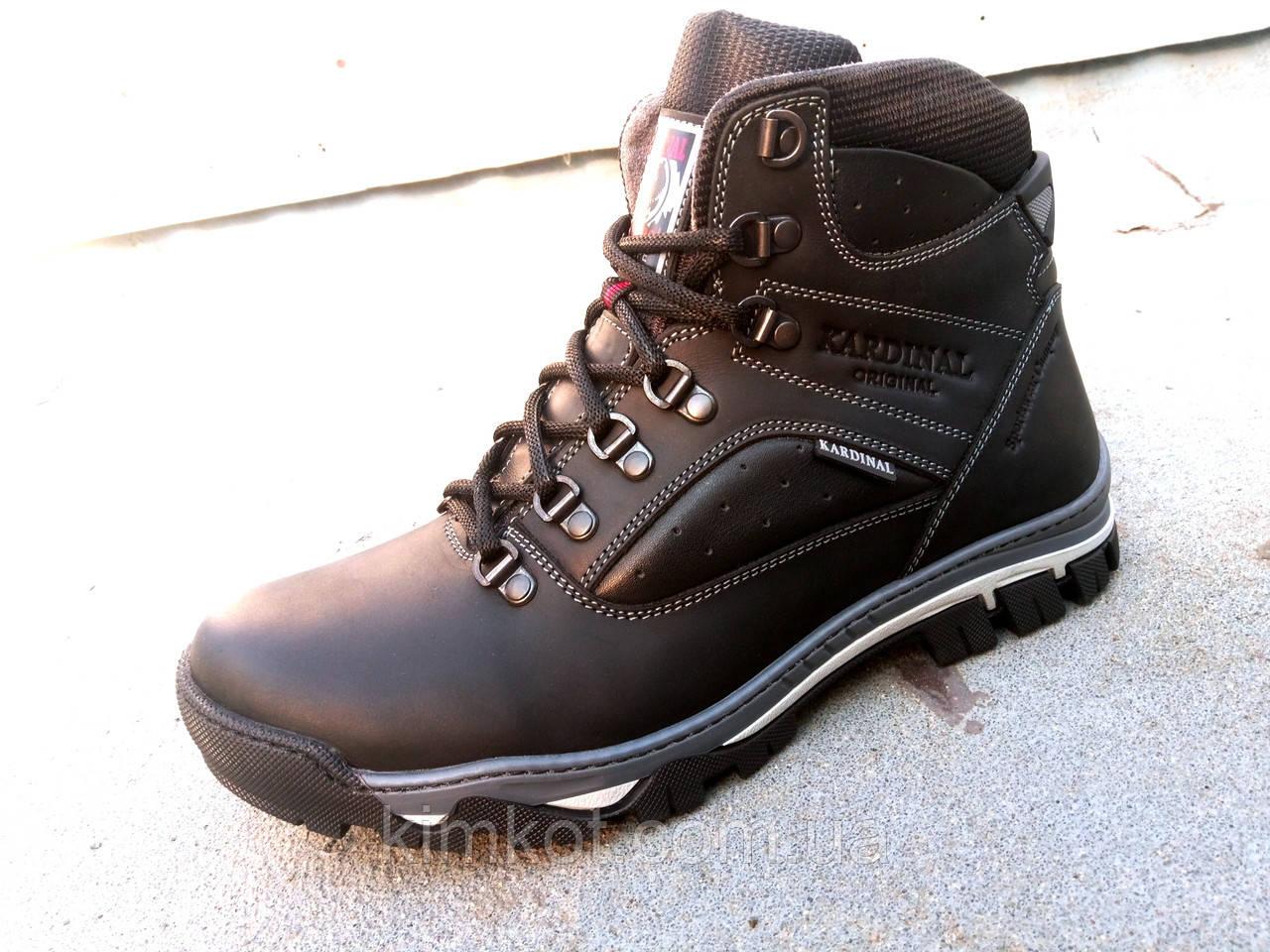 11988ba8f Кожаные мужские зимние ботинки KARDINAL 40-45 р-р: продажа, цена в ...