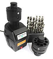 ✅ точилка для сверл Euro Craft BG212 • адаптеры 3-10мм / 8-16мм • 250 Вт • Польша - надежная сборка