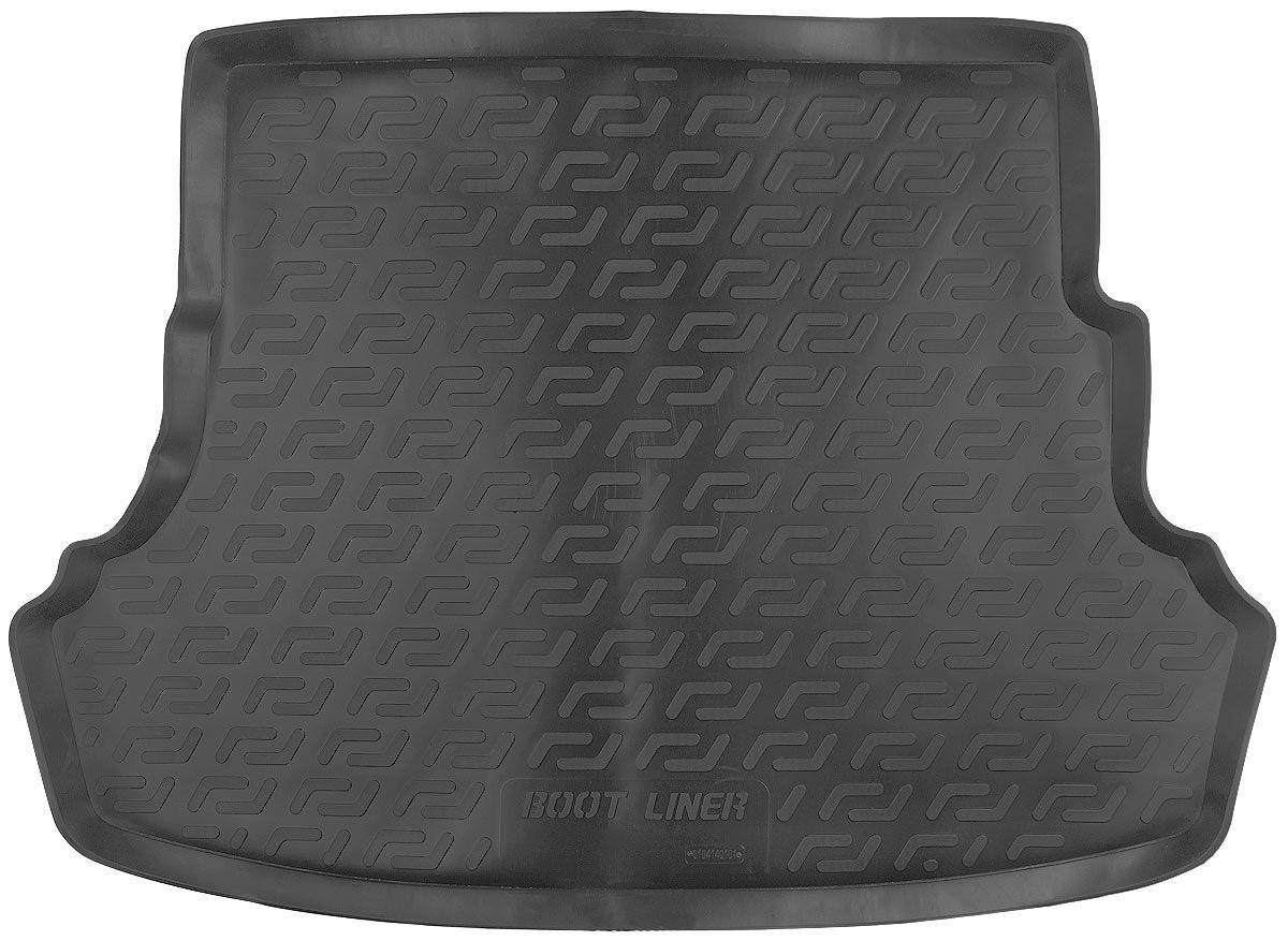 Коврик в багажник для Hyundai Solaris SD (10-) серый duo 104140102