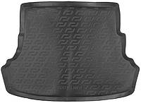Коврик в багажник для Hyundai Solaris SD (10-) серый duo 104140102, фото 1