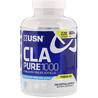 USN, CLA Pure 1000, 220 Softgel Capsules