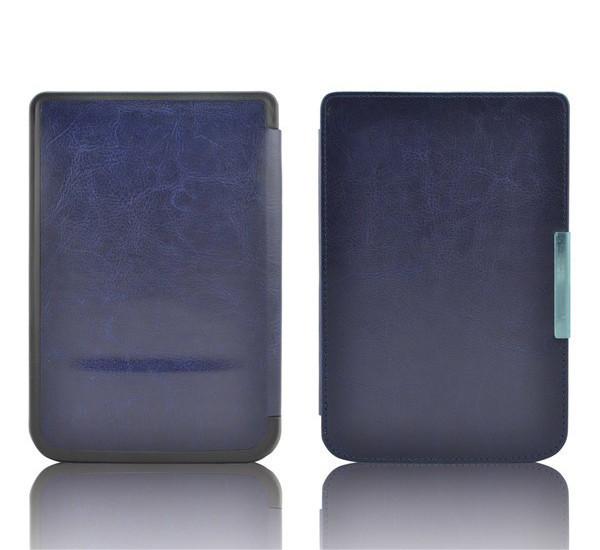 Обложка - чехол для PocketBook 614/615/624/625/626/ Touch Lux 3 электронной книги cиняя