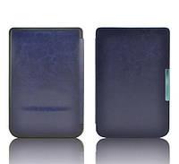 Обложка - чехол для PocketBook 614/615/624/625/626/ Touch Lux 3 электронной книги cиняя, фото 1