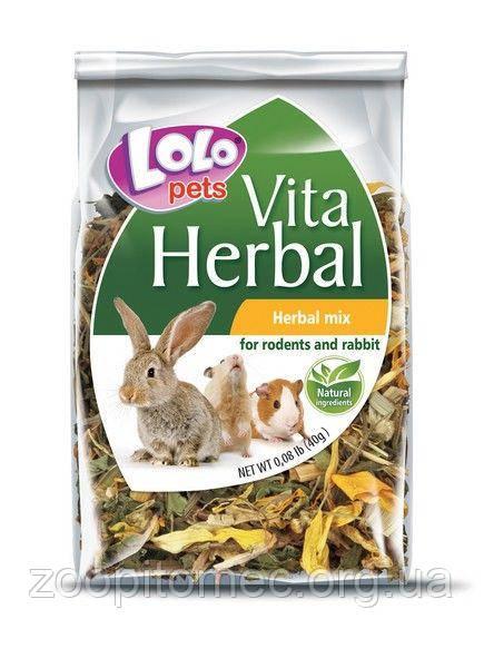 Lolo Рets (Лоло Петс) HERBAL - смесь лекарственных трав для грызунов 40 г