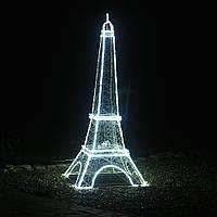 Эйфелевая башня светящаяся 170 см LED, Новогодний декор для витрин.