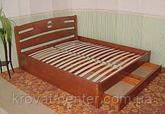 """Спальня из массива натурального дерева """"Сакура"""" (кровать с тумбочками), фото 3"""