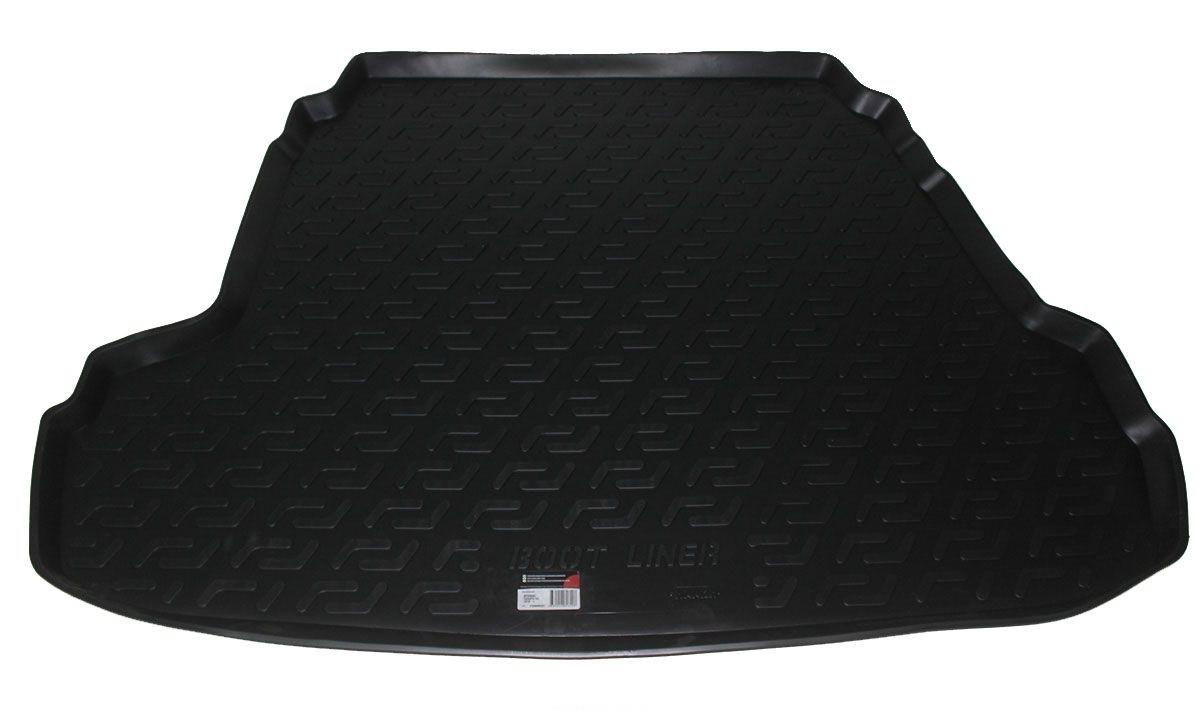 Коврик в багажник для Hyundai Sonata i45 (YF) SD (10-) полиуретановый 104040201
