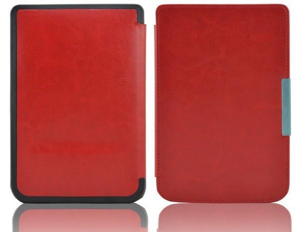 Обложка - чехол для электронной книги PocketBook 614/615/624/625/626/ Touch Lux 3 Красный