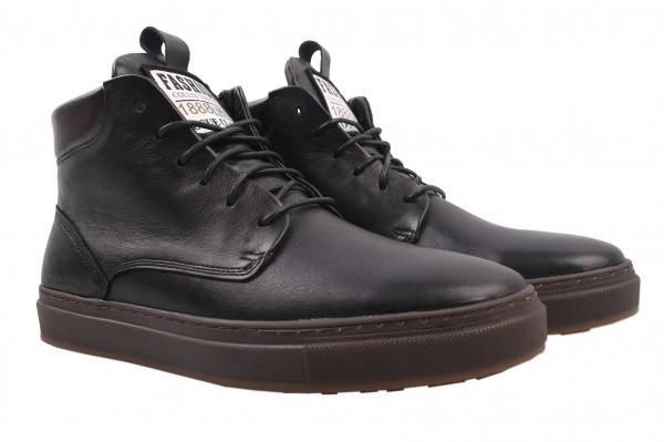 Ботинки Vadrus натуральная кожа, цвет черный