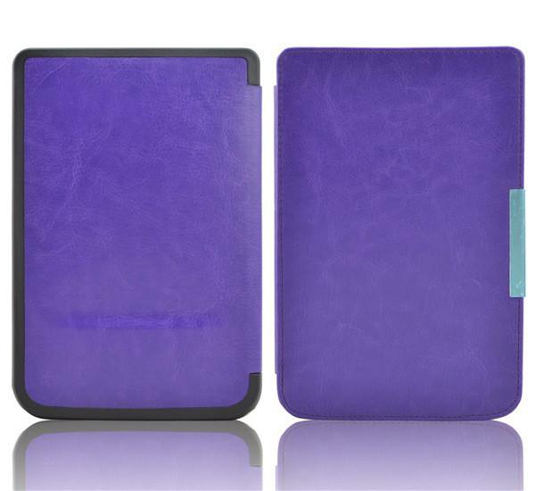 Фиолетовый чехол на Чехол для PocketBook 614