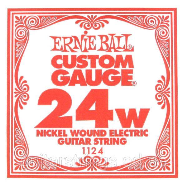 Струна Ernie Ball 1124 Nickel Wound .024 (электро)