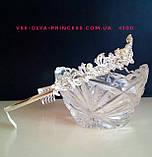 Корона, диадема, тиара, высота 3,5 см., фото 2