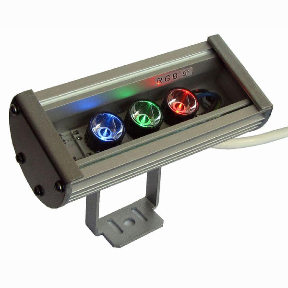 Линейный светодиодный прожектор LS Line-3-65-03-C-12V  IP65 148 мм RGB